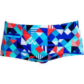 Funky Trunks Classic Boxer de bain Homme, check republic